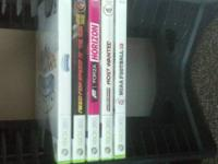 Selling xbox360 games I will be reasonable on the