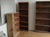Must sell bookcases. Moving and will have no room for