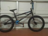 "This is a Wildman 19"" bmx/ dirt jumper bike barley"