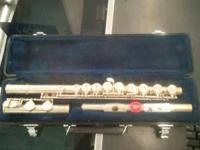 I have for sale a Selmer 1206 Flute Silver With Case it