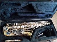 This listing includes an alto saxophone that I've had