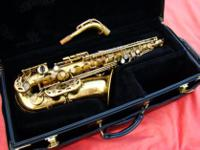 Type: Saxophone Type: Alto Serial. 24.xxx, built in