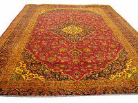 # 3430 9' 7 x 12' 7 pure wool hand knotted in Iran