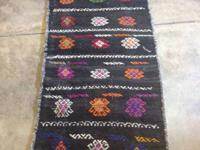 "Semi Antique Turkish Town Tribal Rug. 3'10"" x 6'8"". Was"
