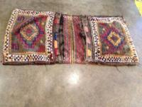 "Semi Antiques Turkish Tribal Camel or Steed Bag. 52"" x"