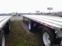 TWO 2008 MANAC ALL STEEL 48 X 102 EXTENDABLE TO 80' ON
