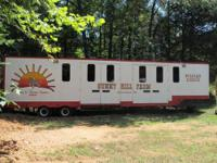 1977 Fruehauf Semi Horse Trailer for sale. This trailer