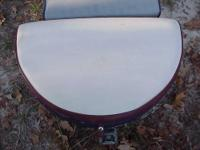 These are semi-oval seat cushions that make great