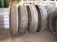 For Sale: 10 semi truck tires with Steel Dayton