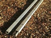 "Heavy duty adjustable aluminum beam for 96"" trailers,"