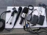 Sennheiser wireless ew100 kit and extras in great