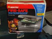 Sentry Fire Safe Waterproof Security File model #h4100.