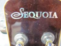 I have a nice Sequoia acoustic guitar. This guitar is