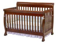 Our convertible crib can convert into a full sized