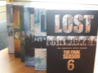 1- Lost- complete series- 6 seasons = 32 DVD's 2-