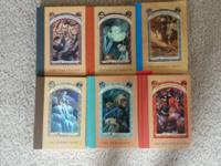 6 Series of Unfortunate Events Books Series 7, 8, 9,