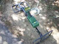 This is a metal detector for serious treasure hunting.