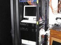 "42U 19"" Excellent Server Rack Cabinet Enclosure - $200"