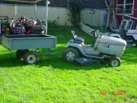 """SarviStar riding lawn mower 12 hp 42"""" cut hydrostatic"""