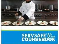 I have the 6th Servsafe handbook for students. It is