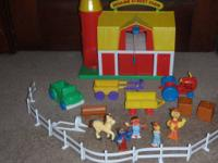 Sesame Street Farm play set - Asking $10.00  Includes: