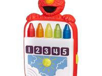 This Elmo's Count Along Crayons toy helps teach number