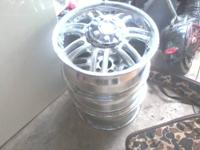 American Racing Mag Haze Rims Size 16X7.0 Offset 42 mm