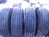 Great set of tires at a great price with 7/32 of tread.