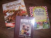 Great set of cookbooks. Included are Southern Living