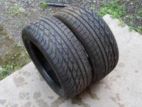 Up for sale here we have 2 Goodyear Eagle GT tires size