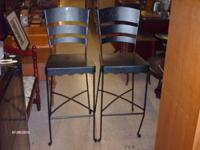 I HAVE A GORGEOUS SET OF 2 BARSTOOLS FOR SALE. THEY ARE