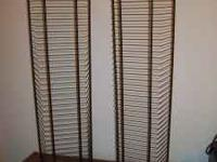 I have a very nice set of CD / DVD racks for sale. They