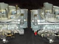 Set of 2 completely rebuilt Holley 450 cfm list # 9776