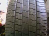 A SET OF GOODYEAR EAGLE TIRES 285/50/20 GOOD FOR