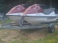 I have 2 2002 Yamaha xl800 three seater jet skis on a