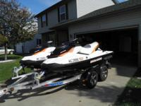 Matching set of 2011 Sea Doo GTI 130's - 3 seaters.