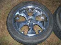 "Im selling a set of 22"" bazo b2 rims with tires 6x5.5"