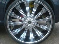 "26"" inch rims with tires  for sale $1700 or best offer"