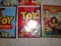I have A SET OF 3 DISNEY dvd movies still factory