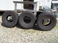 Selling 3 brand new Mickey Thompson Baja ATZ tires.