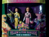 MADE BY BANDAI : ( SET OF 3 ) 9'' POWER RANGER FASHION