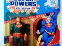 MADE BY KENNER IN 1984 : SET OF 3 , SUPER POWERS ACTION