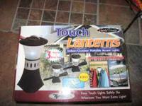 I have a brand new set of 3 touch lanterns in the box.