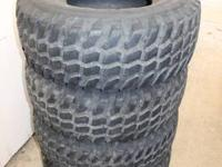 set of 4 remington mud brute tires, kinda old but have