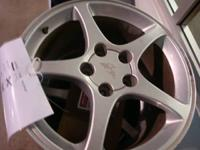 WE HAVE SET OF 4- C-5 CORVETTE  ALLOY RIMS WITH