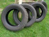 Got a set of 4 , 205 60R 16 Winterforce tires. Used 1