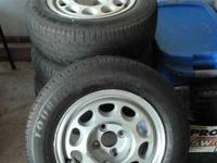 I have a set of (four) 17in. wheels with tires that