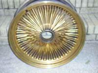 I have a nice set of Gold Wire rims,they are 22 inches