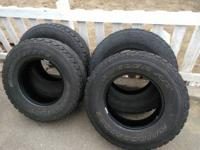 these tires have a strong load rating and are
