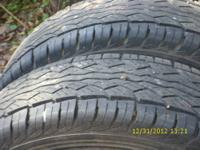 Set of (4) 285-75-R16 Falken Ziex S/TZ-04 tires which